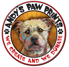 Andy's Paw Print Logo