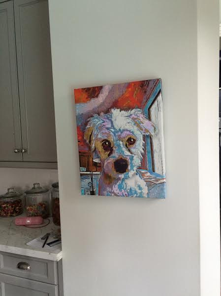 Custom Pet Portrait Examples by Andy's Paw Prints